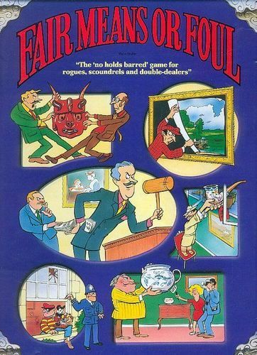 Fair Means Or Foul Board Game | Vintage Board Games & Classic Toys | Vintage Playtime