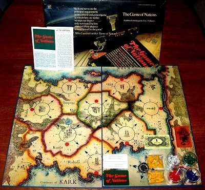 'The Game Of Nations' Board Game