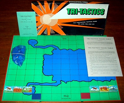 'Tri-Tactics' Board Game