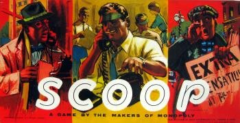 Scoop Board Game | Vintage Board Games & Classic Toys | Vintage Playtime