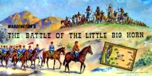 The Battle Of The Little Big Horn Board Game | Vintage Board Games & Classic Toys | Vintage Playtime