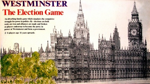 Westminster Board Game | Vintage Board Games & Classic Toys | Vintage Playtime