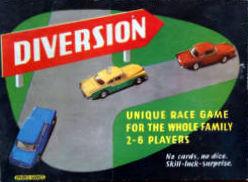 Diversion Board Game | Vintage Board Games & Classic Toys | Vintage Playtime