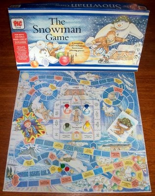 'The Snowman Game' Board Game: FACTORY SEALED