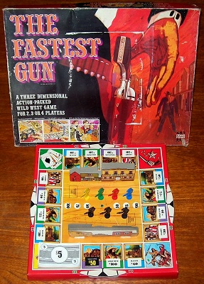 'The Fastest Gun' Board Game