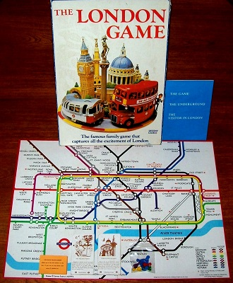 'The London Game' Board Game