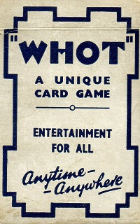 Whot Card Game | Vintage Board Games & Classic Toys | Vintage Playtime