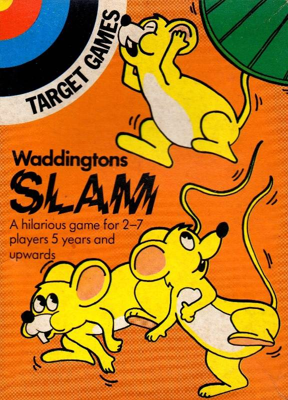 Slam Board Game | Vintage Board Games & Classic Toys | Vintage Playtime