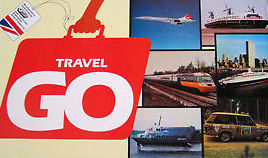Travel Go Board Game | Vintage Board Games & Classic Toys | Vintage Playtime