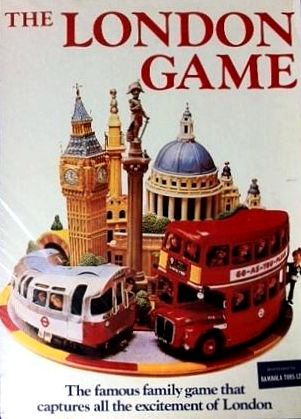 The London Game Board Game | Vintage Board Games & Classic Toys | Vintage Playtime