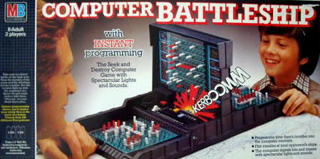 Computer Battleship Board Game | Vintage Board Games & Classic Toys | Vintage Playtime