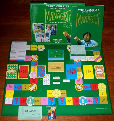 'The Manager' Board Game