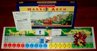 'Advance To Marble Arch' Board Game