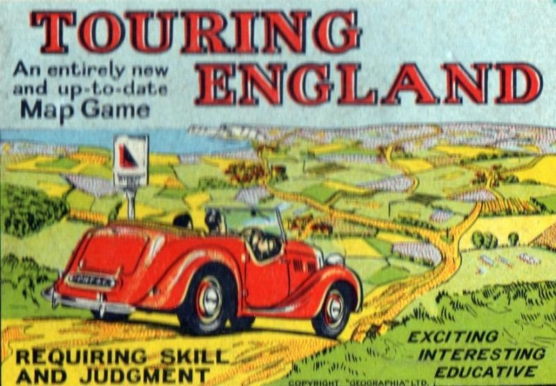 Touring England Board Game | Vintage Board Games & Classic Toys | Vintage Playtime