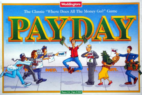 Payday Board Game | Vintage Board Games & Classic Toys | Vintage Playtime