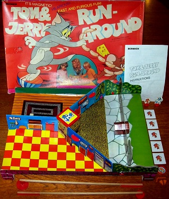'Tom & Jerry Run-Around' Board Game
