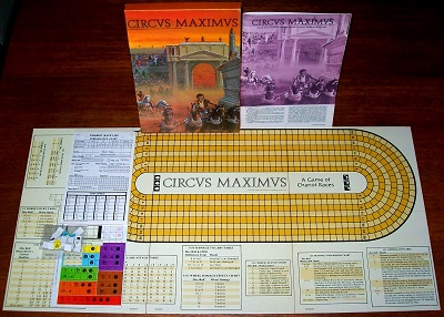 'Circus Maximus' Board Game