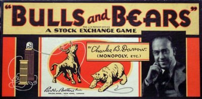 Bulls And Bears Board Game | Vintage Board Games & Classic Toys | Vintage Playtime