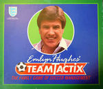 'Emlyn Hughes' Team Tactix' Board Game: FACTORY SEALED