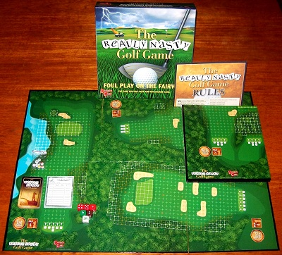 'The Really Nasty Golf Game' Board Game: FACTORY SEALED