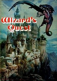 Wizard's Quest Board Game | Vintage Board Games & Classic Toys | Vintage Playtime