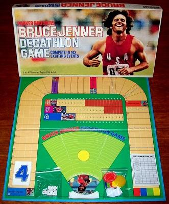 'Bruce Jenner: Decathlon Game' Board Game