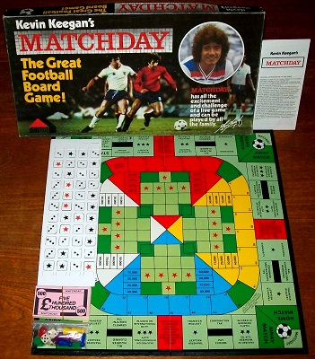 'Kevin Keegan's Matchday' Board Game