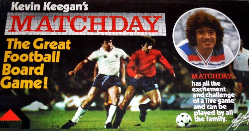 Kevin Keegan's Matchday Board Game | Vintage Board Games & Classic Toys | Vintage Playtime
