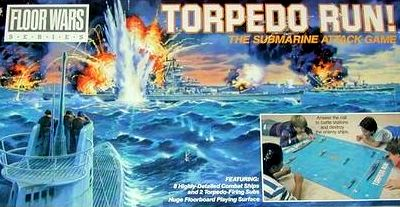 Torpedo Run! Board Game | Vintage Board Games & Classic Toys | Vintage Playtime