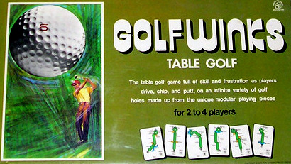 Golfwinks: Table Golf Board Game | Vintage Board Games & Classic Toys | Vintage Playtime