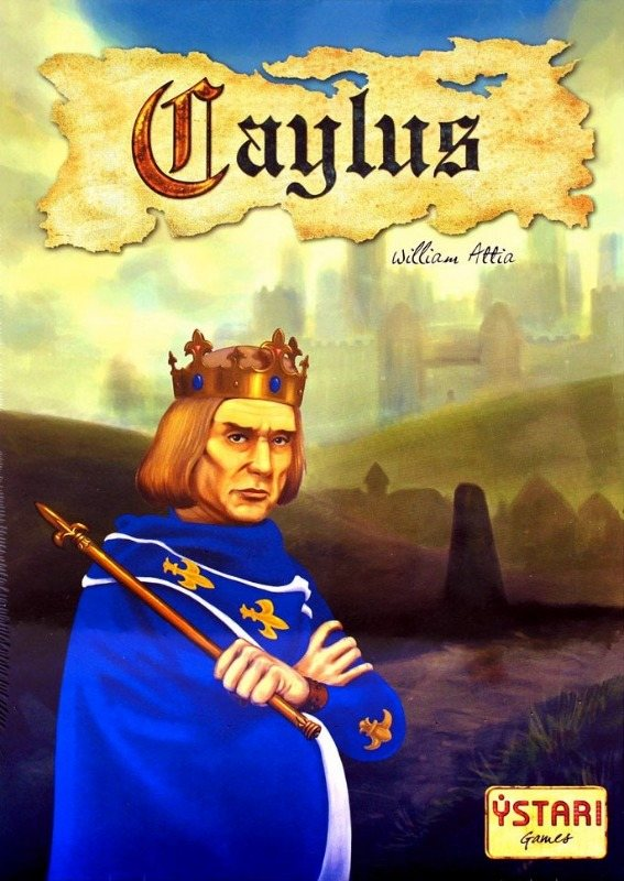 Caylus Board Game | Vintage Board Games & Classic Toys | Vintage Playtime