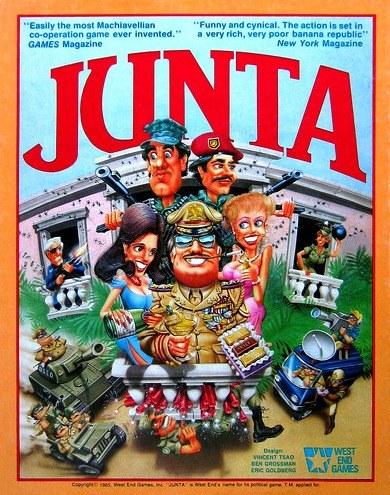 Junta Board Game | Vintage Board Games & Classic Toys | Vintage Playtime