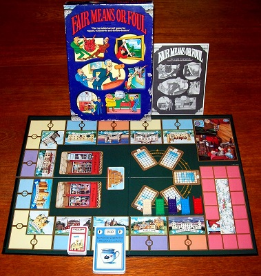 'Fair Means Or Foul' Board Game