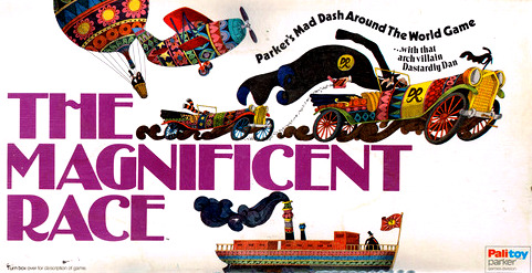 The Magnificent Race Board Game | Vintage Board Games & Classic Toys | Vintage Playtime