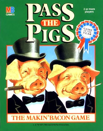 Pass The Pigs Game | Vintage Board Games & Classic Toys | Vintage Playtime