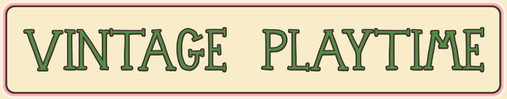 VINTAGE PLAYTIME, site logo.