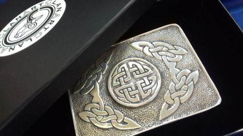 Celtic Circle Buckle CLA-E002AH