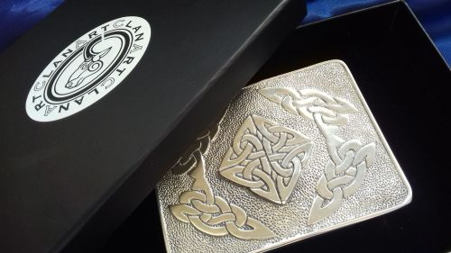 Celtic Square Buckle CLA-E003AH