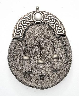 Viking Knotwork Bovine Sporran CLA-SP011AH  £140