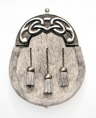 Large Knot Bovine Sporran CLA-SP012AH