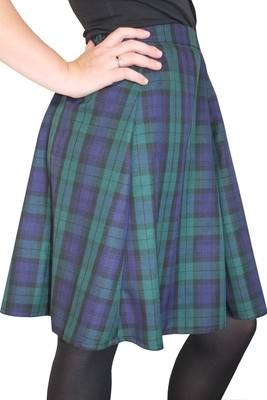 TARTAN SKIRT - Black Watch