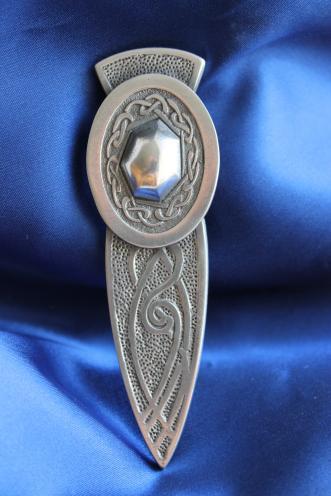 Celtic Oval Kilt Pin CLA-G004AH