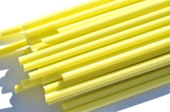 Lemon Yellow - Gaffer Glass Rods/Cane - CoE 96 - G187