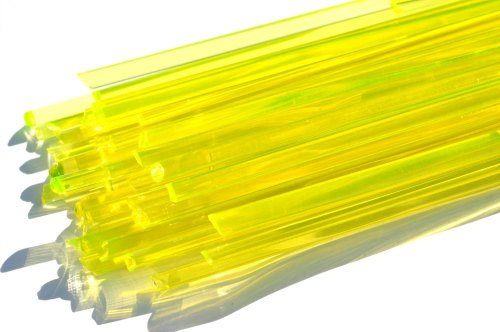 Uranium Green - Gaffer Glass Cane/Rods - Coe 96 - G038