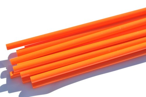 Light Orange - Reichenbach Glass Rods - CoE 94(+/-2) - RW0722