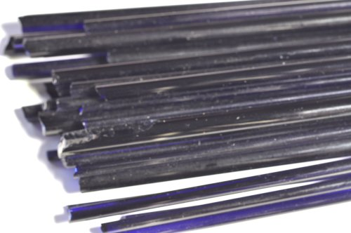 Cobalt Blue Extra Transparent- Gaffer Glass Rods/Cane - CoE 96- G020