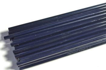 SPECIAL OFFER - Navy Blue Opaque - Gaffer Glass Rods/Cane - CoE 96 - G129