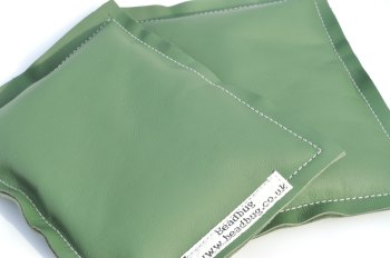 Elbow Pads for Lampwork Bead Making - Dark Green