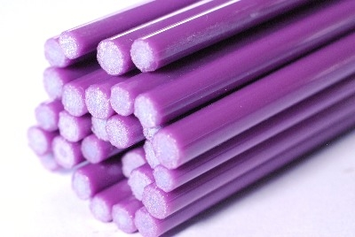 Lilac Red Rods - Reichenbach Glass Rods - CoE 94 (+/-2) - RW0097