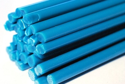 Opal Sea Blue Rods - Reichenbach Glass Rods - CoE 94 (+/-2) - RW0093